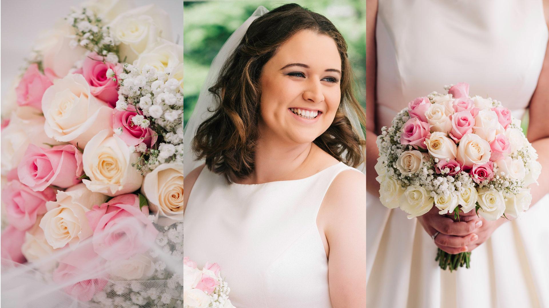 bride+roses