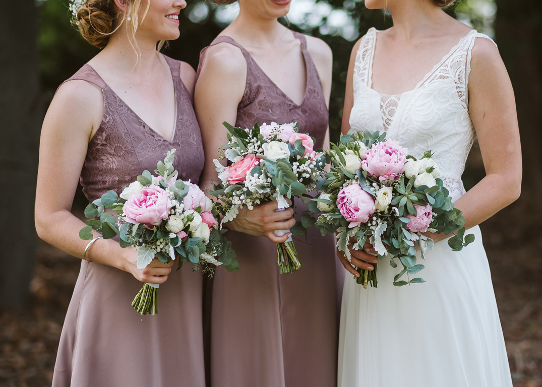 Three Bouquets