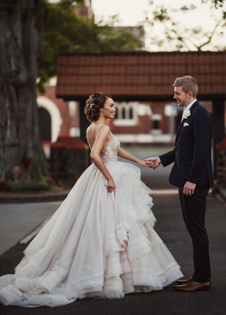 Bundaberg Bride and groom