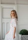 vintage lace gown