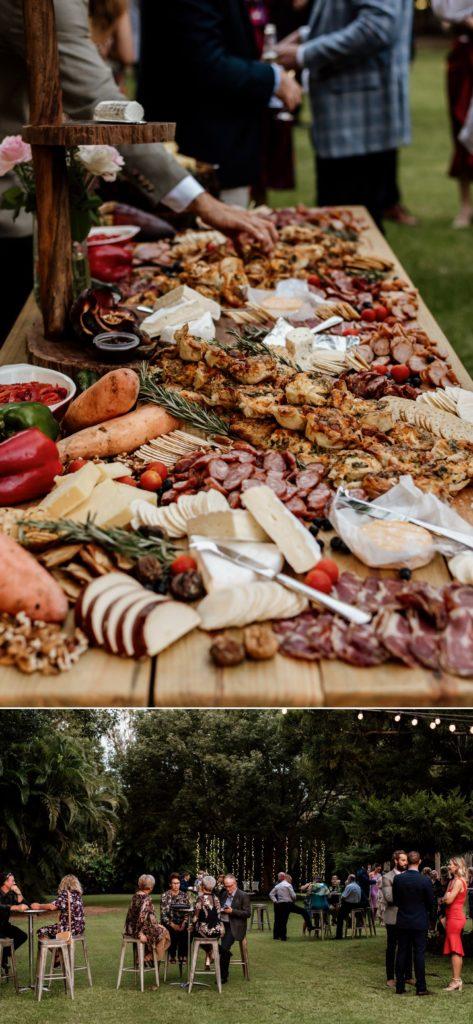 Grazing Platter at Wedding Reception