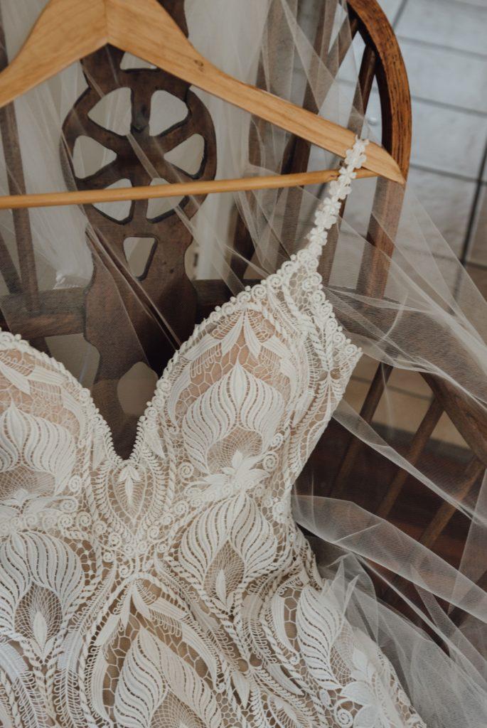 White April Wedding Gown
