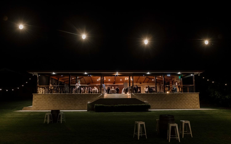 Platypus Park at night