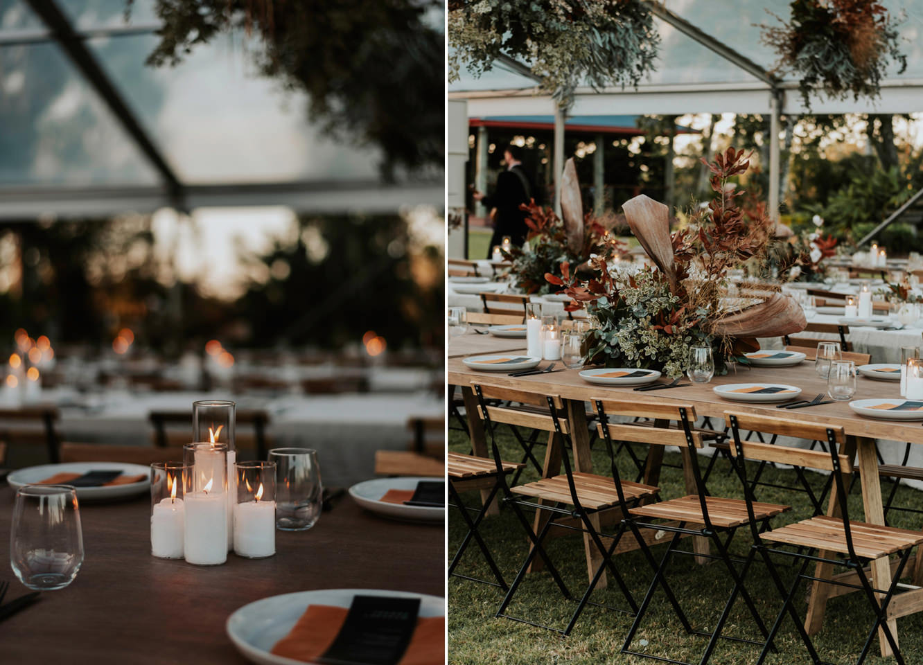 Platypus Park wedding Reception Decor